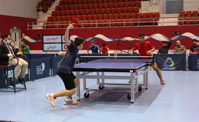 فوز سار والبحرين والاتفاق في الدوري البحريني لكرة الطاولة