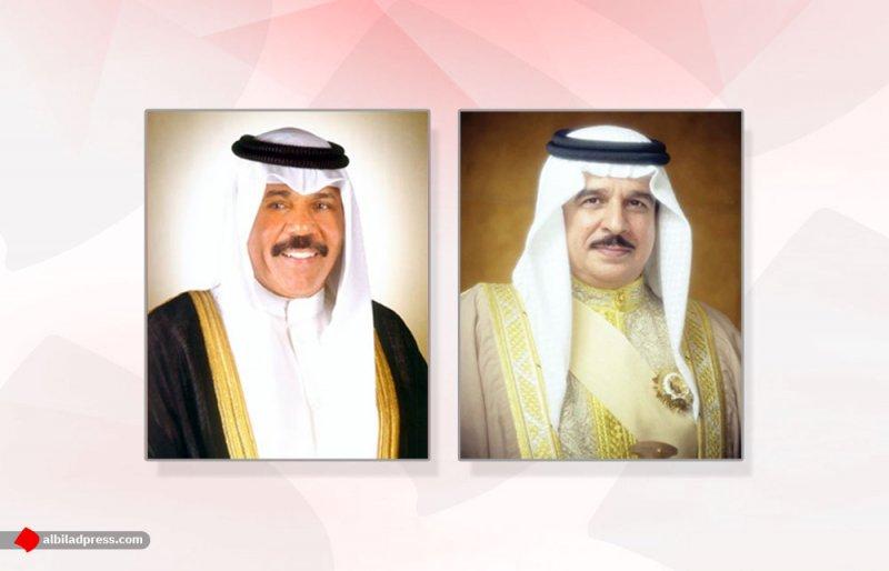 جلالة الملك المفدى يجري اتصالاً هاتفياً بسمو أمير دولة الكويت للتهنئة بمناسبة العيد الوطني وذكرى التحرير