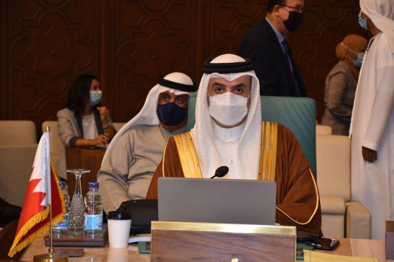 سفير البحرين في القاهرة يشارك في الاجتماع التحضيري لمجلس الجامعة العربية