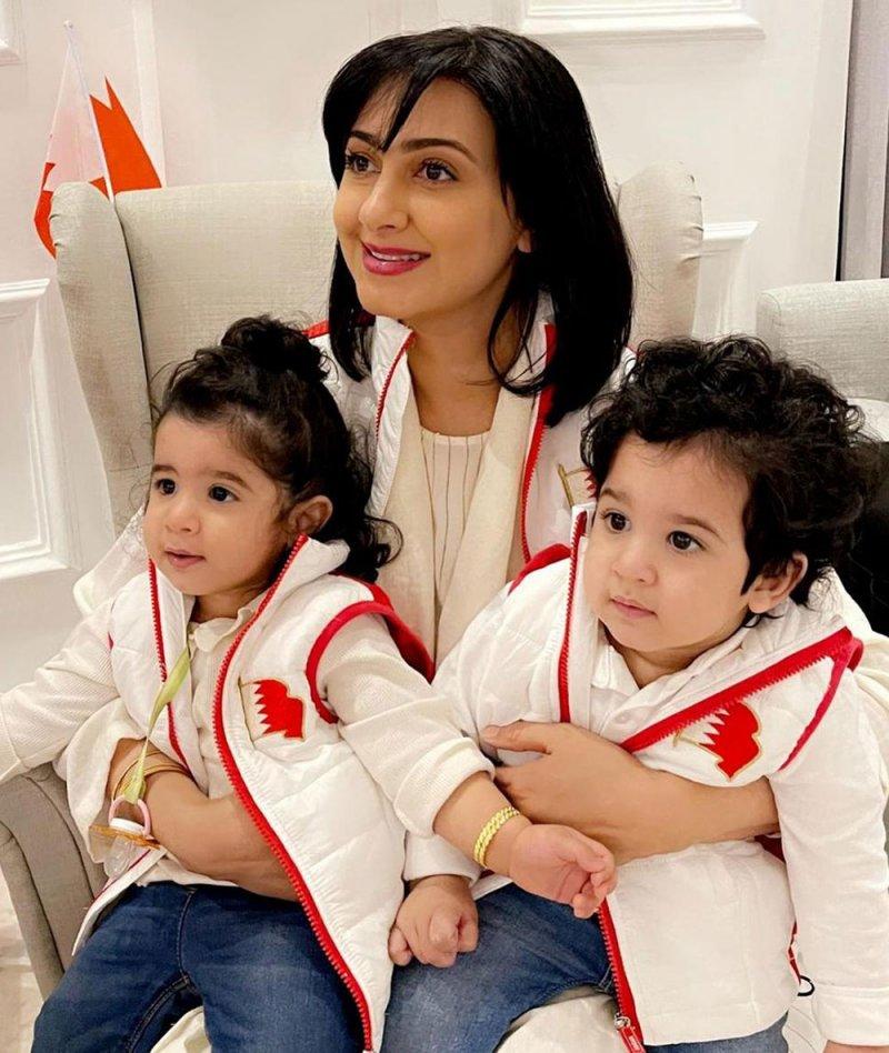 هيفاء حسين تخطف القلوب مع أبنائها