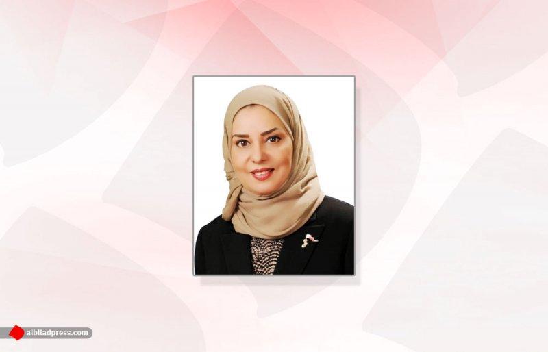 رئيسة مجلس النواب تهنئ الأستاذة هالة الأنصاري بمناسبة اختيارها