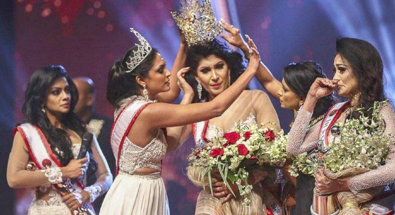 خلاف على التاج يرسل ملكة جمال سريلانكا للمستشفى