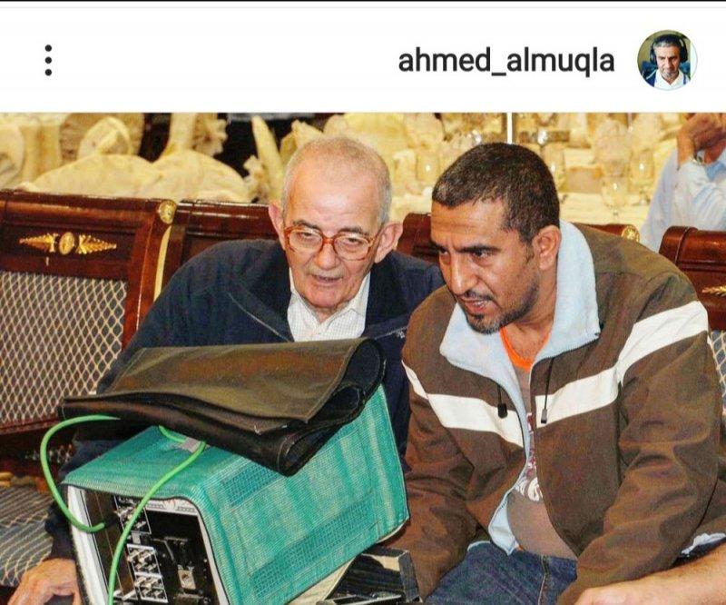 أحمد المقلة ينعى مدير الإضاءة بهجت حيدر