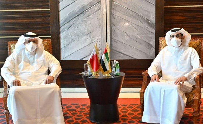 الأمين العام لمجلس النواب يبحث تعزيز التعاون مع الأمانة العامة بالمجلس الوطني الاتحادي الإماراتي