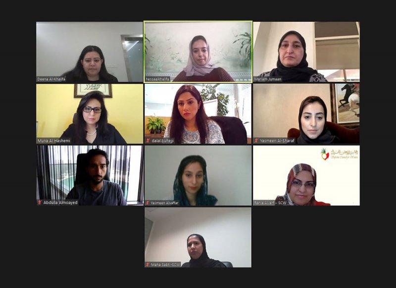 """لجنة """"المرأة في التكنولوجيا المالية"""" تستعرض مستجدات خطتها التنفيذية لعامي 2021-2022"""