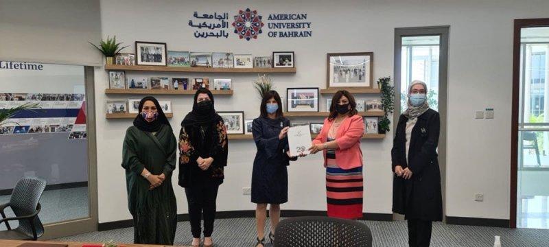 توقيع شراكة بين الجامعة الأمريكية في البحرين و جمعية سيدات الأعمال البحرينية