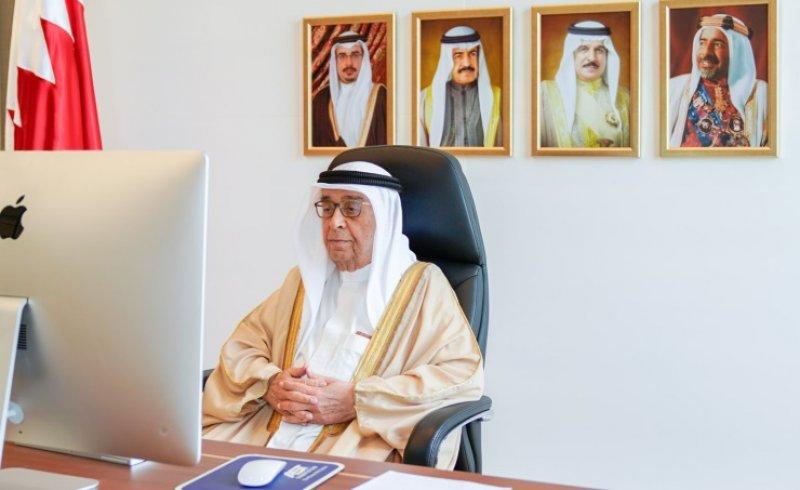 سمو الشيخ محمد بن مبارك يشيد بجهود السفير الياباني في المنامة