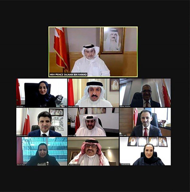 سمو ولي العهد رئيس مجلس الوزراء: مسيرة الوطن تزدهر بالجهود المخلصة والعقول المبدعة لأبناء البحرين