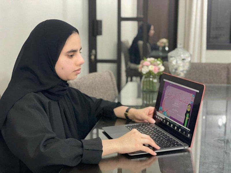 ابتدائية سبأ للبنات تنظم لقاءً رمضانياً افتراضياً لمنتسباتها