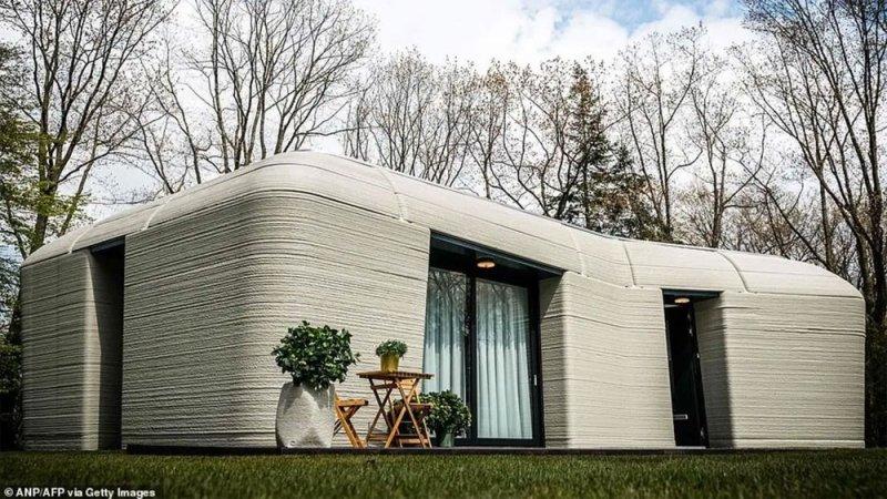 أول منزل في أوروبا بتقنية ثلاثية الأبعاد.. لن تصدق كم استغرق تنفيذه!