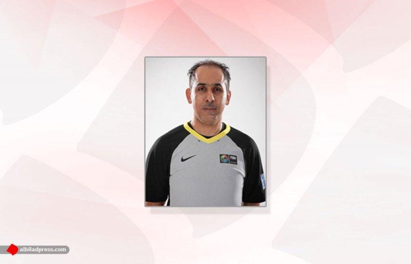 الحكم محمد السلم يشارك في إدارة تصفيات كأس آسيا لكرة السلة
