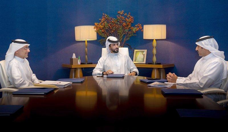 """ناصر بن حمد يستقبل وزير النفط والرئيس التنفيذي لشركة """"أسري"""""""
