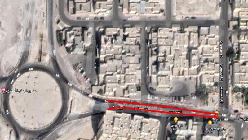 """""""شؤون الأشغال"""": غلق مسار على شارع 8 عند تقاطعه مع شارع 12 بسلماباد"""