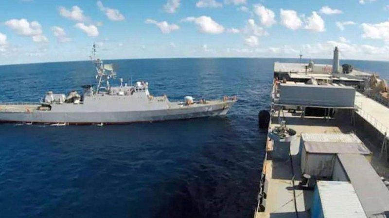 سفيتنان حربيتان إيرانيتان في المحيط الأطلسي.. وواشنطن تراقب