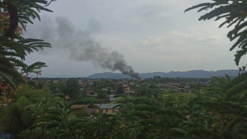 فاجعة.. مقتل 12 بسقوط طائرة عسكرية في ميانمار