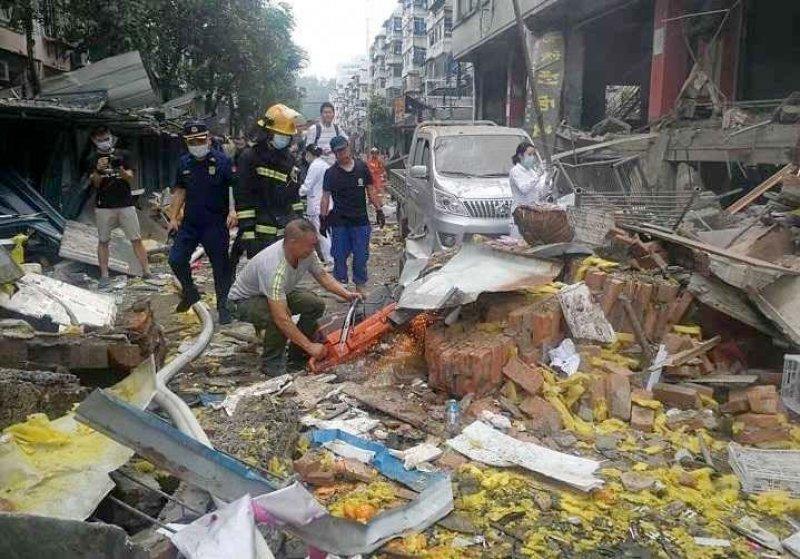 مقتل 11 شخصا في انفجار ضخم للغاز بوسط الصين
