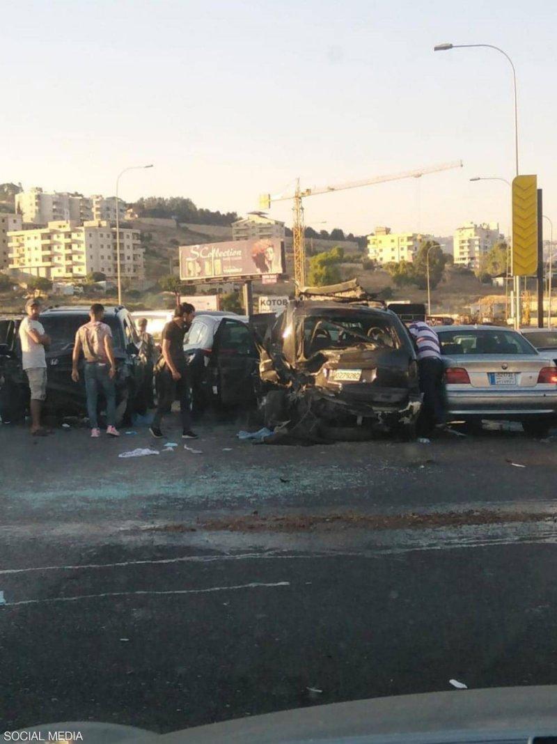 """حادث سير مروع في لبنان.. عائلة تدفع ثمن """"طوابير البنزين"""""""