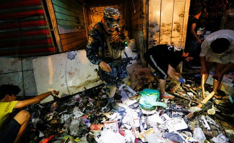 مقتل ما لا يقل عن 31 شخصًا إثر تفجير في سوق شرقي بغداد