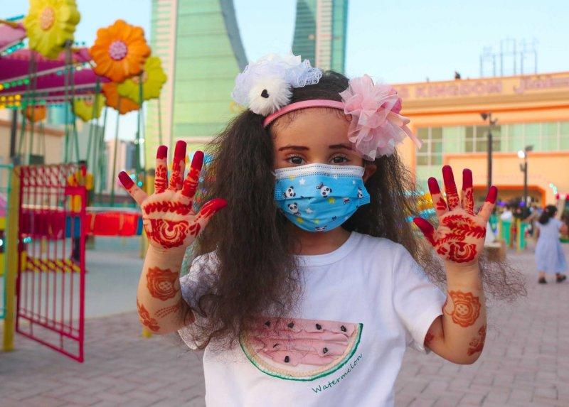 بالصور: بهجة الأطفال في العيد بعدسة خليل إبراهيم