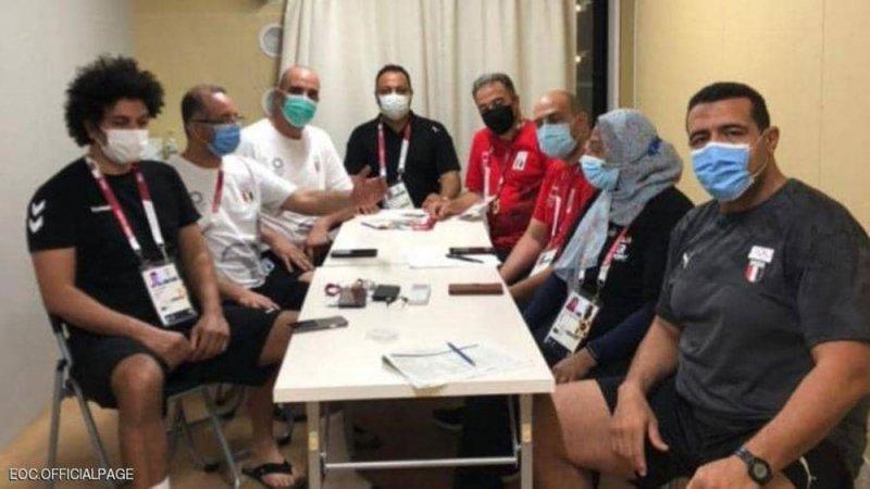 طوكيو.. تفاصيل أول إصابة بكورونا في بعثة مصر بالأولمبياد