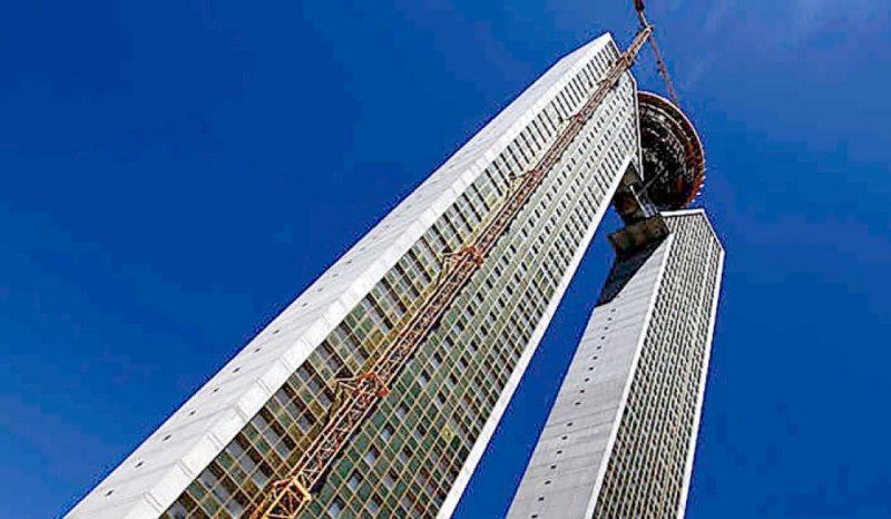 الانتهاء من بناء أطول ناطحة سحاب في الاتحاد الأوروبي