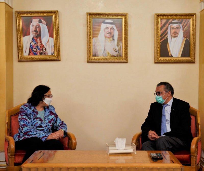 بالصور: وصول المدير العام لمنظمة الصحة العالمية
