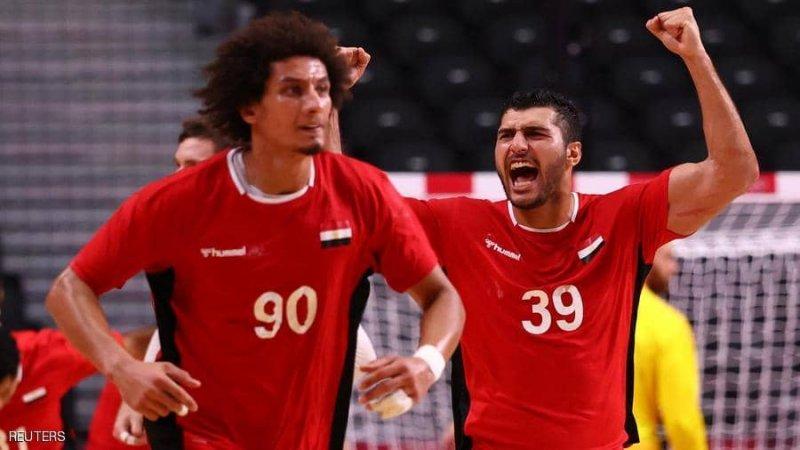 موعد مباراة مصر وفرنسا في نصف نهائي اليد بالأولمبياد