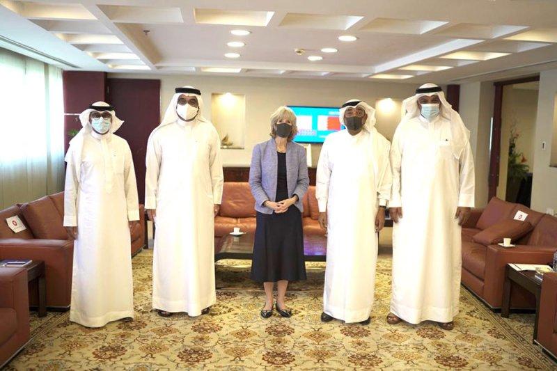ناس يؤكد على عمق ومتانة العلاقات التجارية والاستثمارية بين البحرين وأمريكا