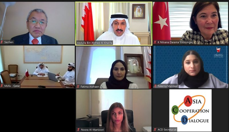 وكيل وزارة الخارجية للشؤون السياسية يرحب برئاسة مملكة البحرين حوار التعاون الآسيوي