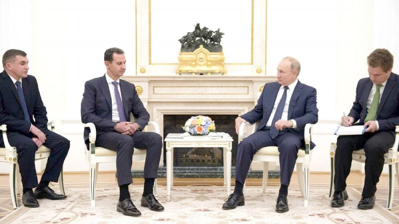 كورونا في الكرملين... بوتين التقى الأسد قبل قراره العزل