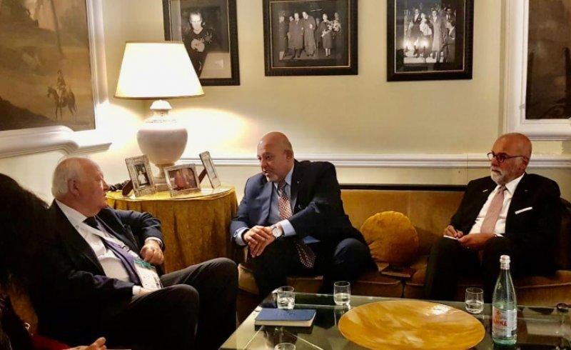 وزير العدل يجتمع مع الممثل السامي لتحالف الحضارات بالأمم المتحدة