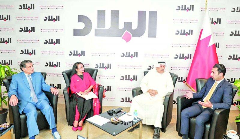 """""""البحرين في ارقام"""" يشجع الشباب البحريني لدخول القطاعات الاستثمارية بالبورصة"""