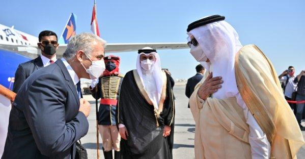 تغطية اعلامية في البحرين للزيارة التاريخية التي يقوم بها اليوم وزير خارجية