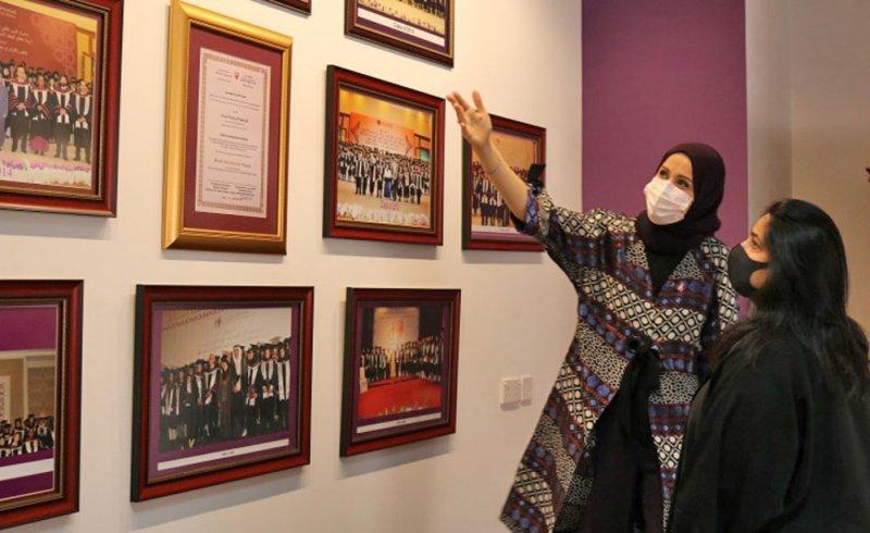 الأمين العام لمجلس التعليم العالي تزور الجامعة الملكية للبنات