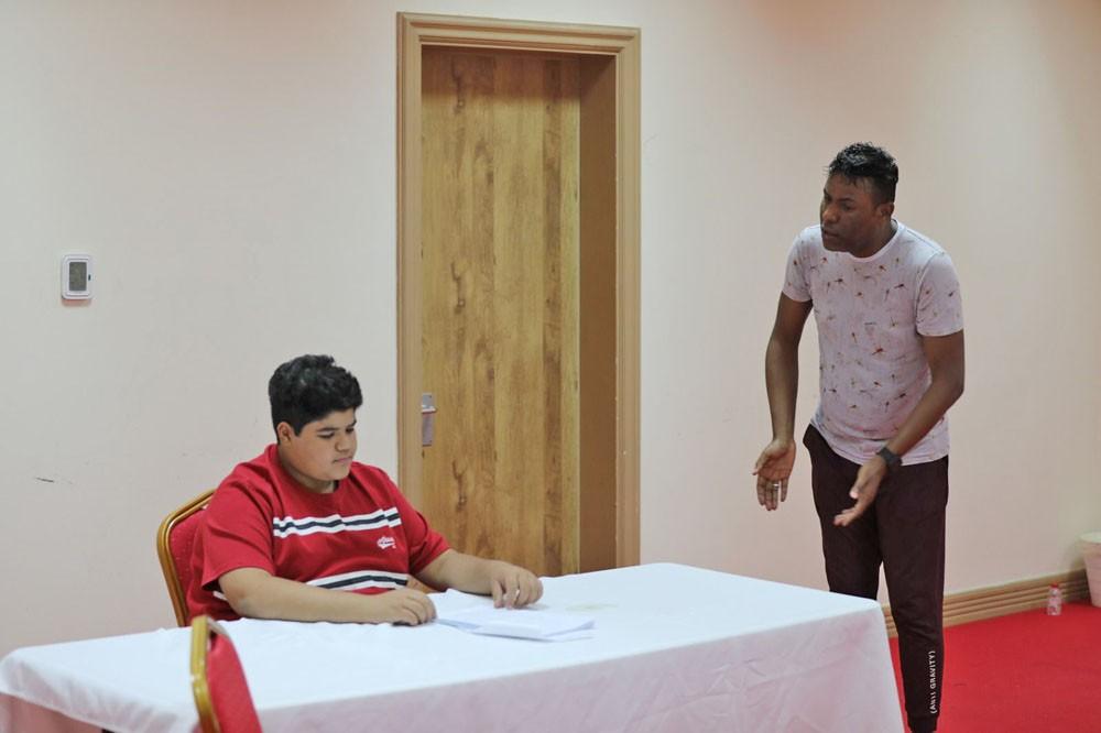 منصور الجداوي وخالد علي الغرير