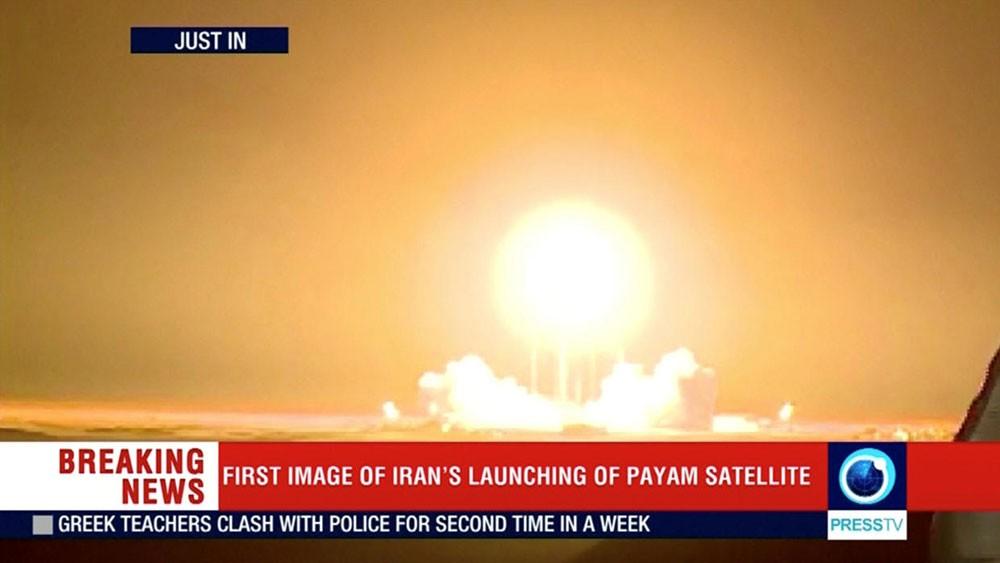 إيران تفشل في عملية إطلاق القمر الاصطناعي {ظفر} إلى الفضاء
