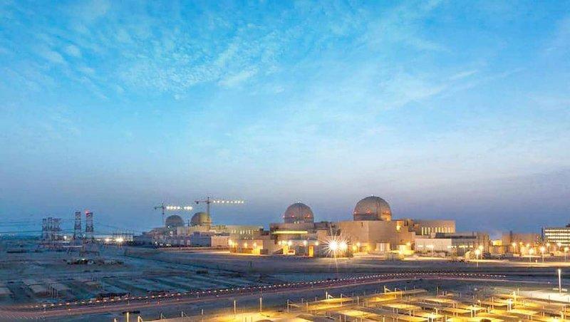 الإمارات تشغل أول مفاعل نووي سلمي بالعالم العربي