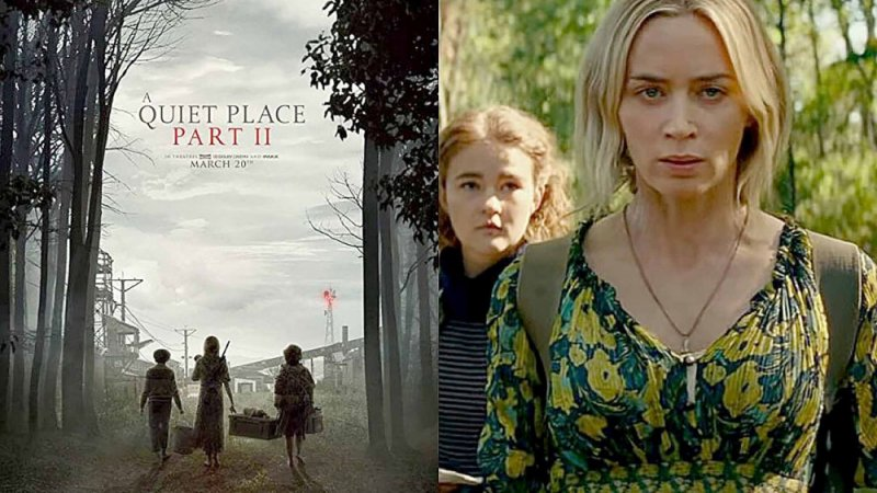 """A Quiet Place 2"" في أبريل 2021"