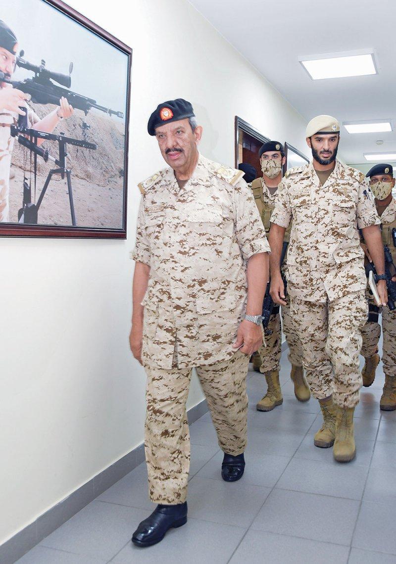 تعزيز قدرات قوة الدفاع العسكرية