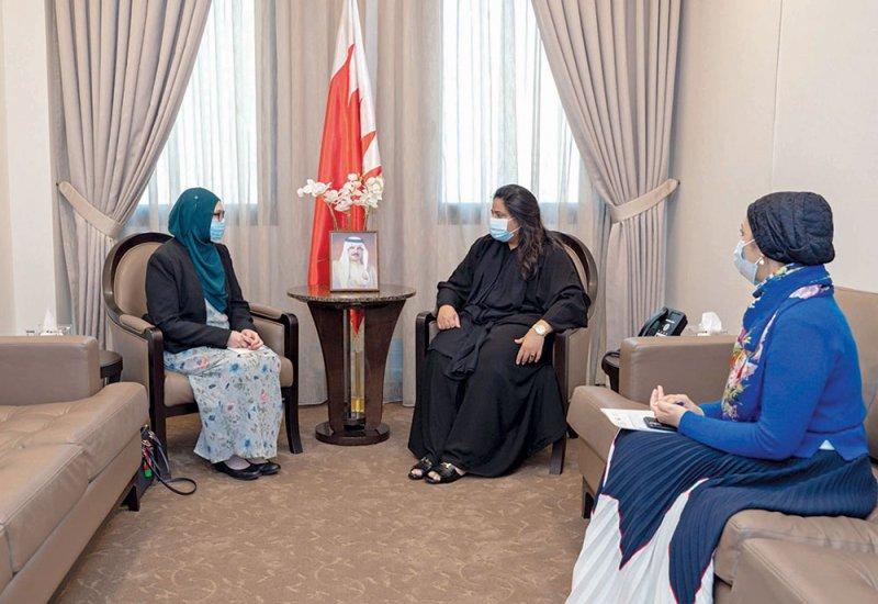 تعزيز أطر التنسيق بين البحرين وبروناي دار السلام